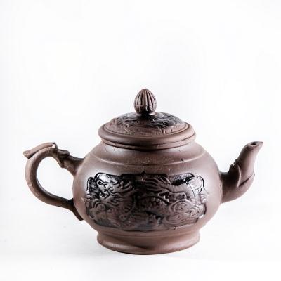 Глиняный чайник, средний 580мл