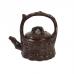 Глиняный чайник. Бамбук