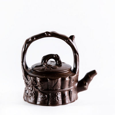 Глиняный чайник. Бамбук 220мл
