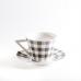 Керамический кофейный набор. Серый