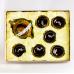 Керамический набор Рыбки, коричневый
