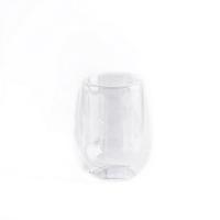 Стеклянный стакан двухслойный