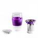 Стакан стекло, фиолетовый 580мл