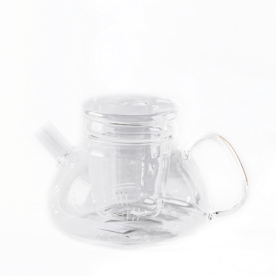 Стеклянный чайник с колбой 800 мл