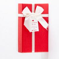 Прямоугольная коробка с бантиком