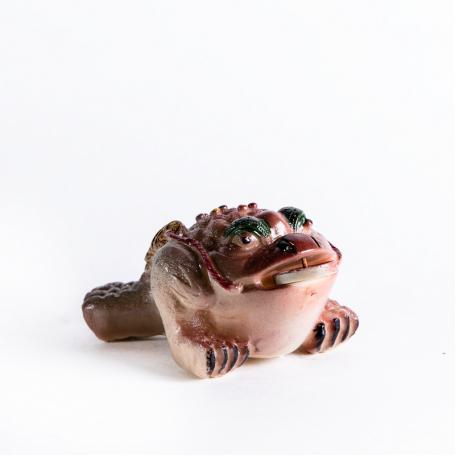 Жаба меняет цвет