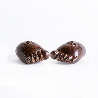 Ножки Будды деревянные темные
