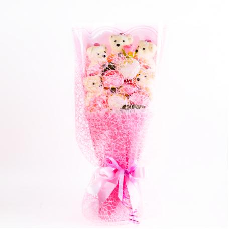 Подарок Букет 19 розовый