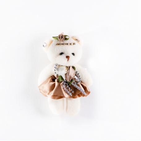Медведь мягкий коричневый
