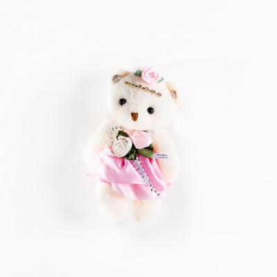 Медведь мягкий розовый