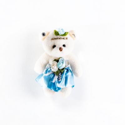 Медведь мягкий голубой